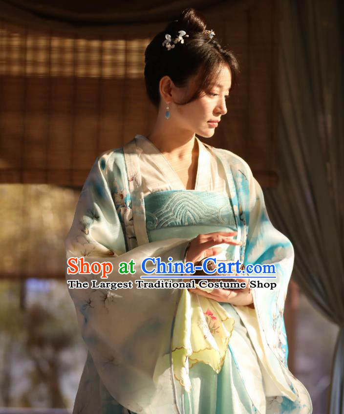 Chinese Ancient Drama The Story of MingLan Song Dynasty Aristocratic Lady Historical Costumes for Women