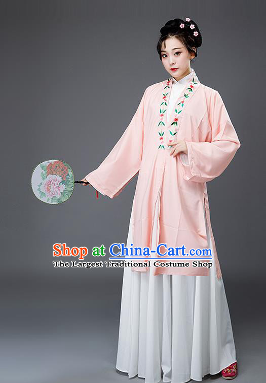 Traditional Chinese Ancient Nobility Lady Costumes Ming Dynasty Drama Embroidered Hanfu Dress for Women