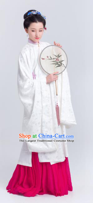 Chinese Traditional Ming Dynasty Palace Lady Historical Costumes Ancient Imperial Consort Hanfu Dress for Women
