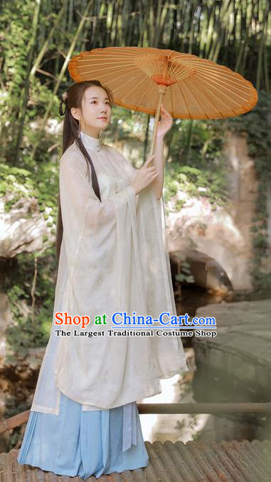 Traditional Chinese Ancient Rich Women Hanfu Dress Ming Dynasty Princess Silk Historical Costumes Complete Set