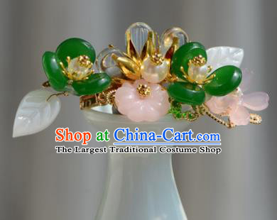 Chinese Ancient Tang Dynasty Princess Hair Claw Hairpins Traditional Hanfu Court Hair Accessories for Women