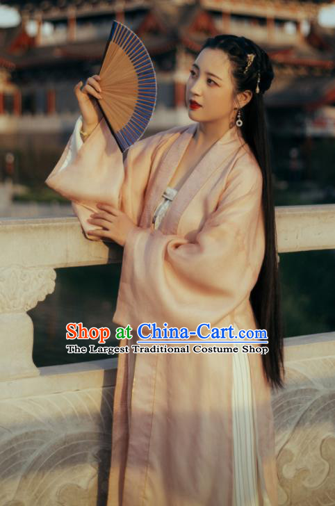 Traditional Chinese Song Dynasty Nobility Lady Hanfu Dress Ancient Court Female Replica Costumes for Women