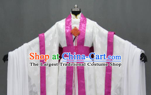 Traditional Chinese Cosplay Empress Dress Ancient Drama Female Swordsman Costumes for Women