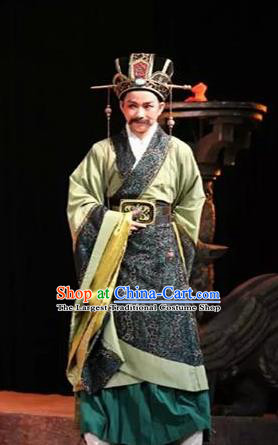 Chinese Drama Yuan Qu Ancient Minister Jin Shang Clothing Stage Performance Dance Costume for Men