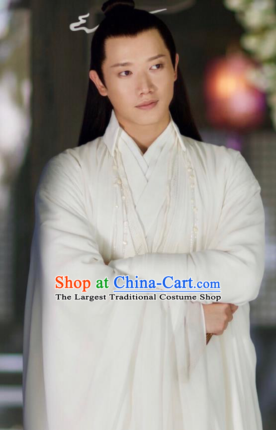 Chinese Ancient High Immortal Yun Feng Drama Love and Destiny Swordsman Replica Costumes for Men