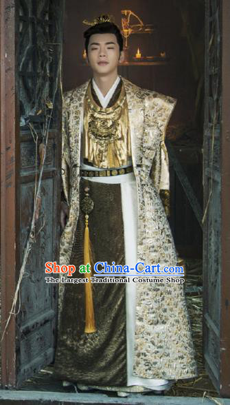 Drama Young Blood Ancient Chinese Song Dynasty Swordsman Prince Costumes for Men