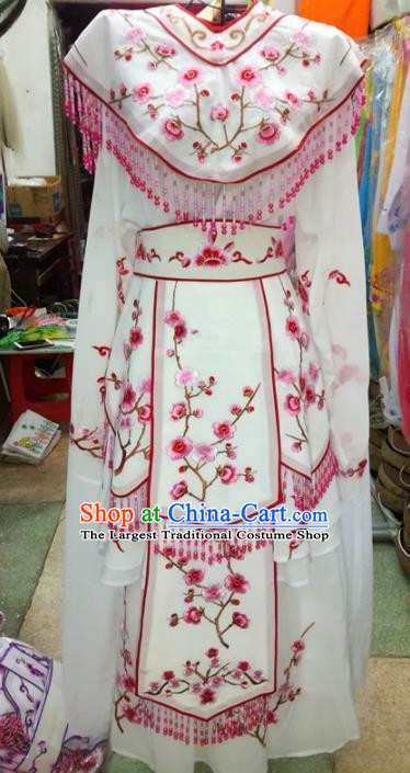 Chinese Traditional Beijing Opera Princess Costume Peking Opera Diva Embroidered Dress for Adults