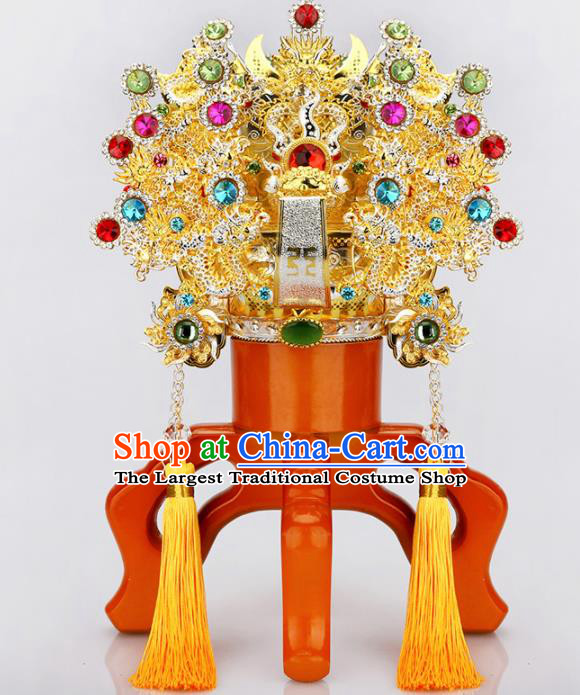 Chinese Traditional Religious Hair Accessories Taoism Feng Shui Gnome Hat