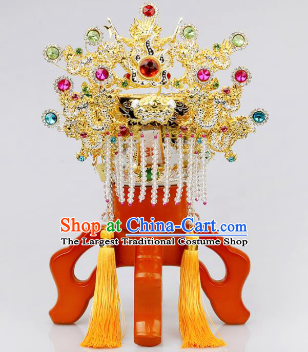 Chinese Traditional Religious Hair Accessories Taoism Feng Shui Guan God Hat