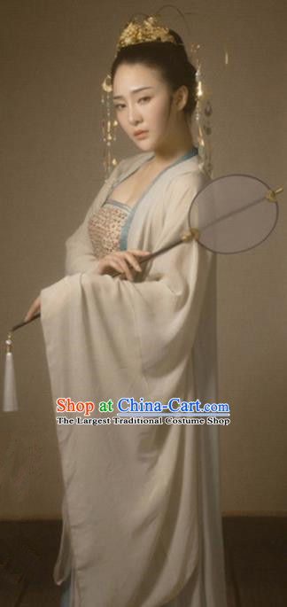 Chinese Ancient Drama Imperial Consort Hanfu Dress Traditional Tang Dynasty Palace Lady Historical Costume for Women