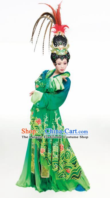 Traditional Chinese Ancient Han Dynasty Imperial Concubine Diau Charn Historical Costume Complete Set