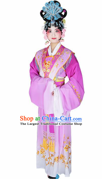 Traditional Chinese Beijing Opera Princess Costume Peking Opera Diva Rosy Dress