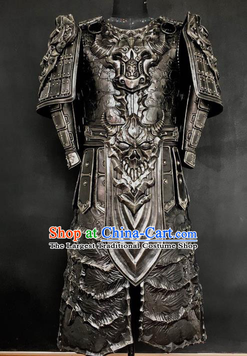 Chinese Han Dynasty Warrior Costume Ancient Drama General Body Armor Complete Set