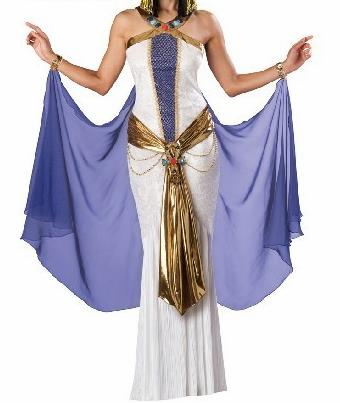 Traditional Egypt Empress Costume Ancient Egypt Queen Dress for Women
