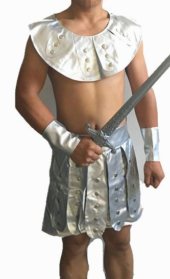 Traditional Roman Warrior Costume Ancient Rome General Armor Clothing for Men