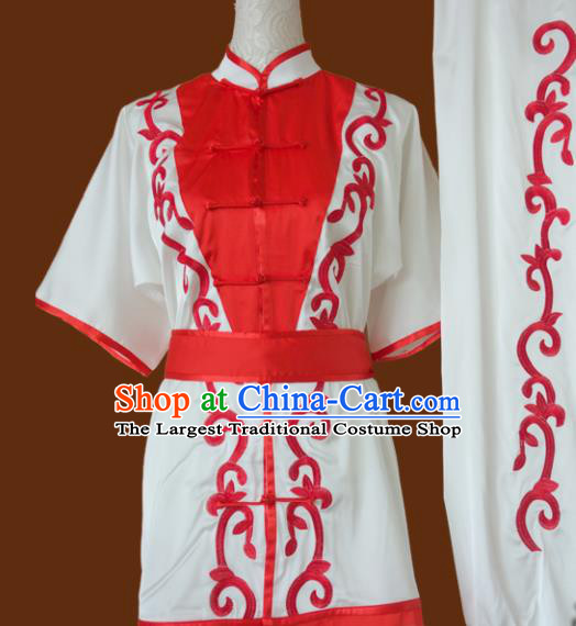 Top Grade Kung Fu Costume Chinese Martial Arts Training Tai Ji Uniform for Adults