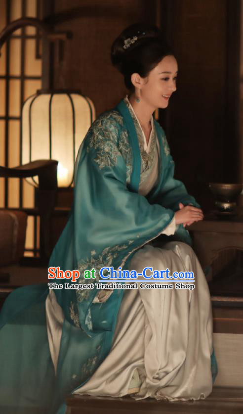 The Story Of MingLan Chinese Ancient Marquise Hanfu Dress Song Dynasty Nobility Embroidered Costume for Rich Women