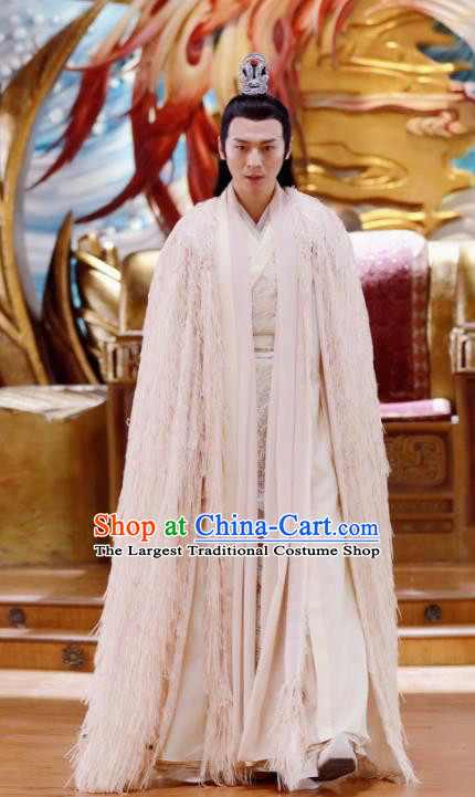 Drama Zhao Yao Chinese Ancient Nobility Childe Swordsman Traditional Embroidered Replica Costume for Men