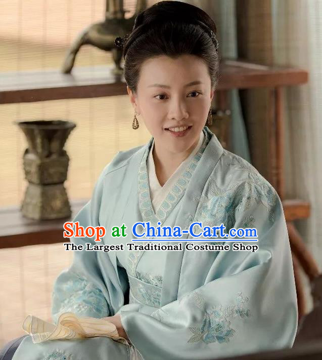 The Story Of MingLan Traditional Chinese Ancient Nobility Lady Embroidered Replica Costume for Women