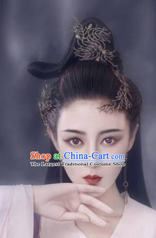 Handmade Chinese Palace Princess Hair Claw Hairpins Ancient Traditional Hanfu Hair Accessories for Women