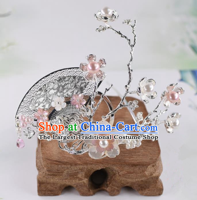 Chinese Handmade Palace Hairpins Ancient Princess Hanfu Hair Accessories Headwear for Women