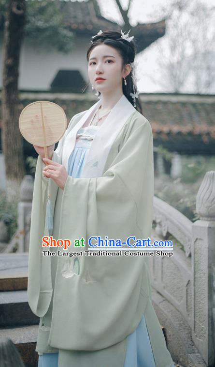 Ancient Chinese Tang Dynasty Nobility Lady Hanfu Dress Traditional Princess Embroidered Historical Costume for Women