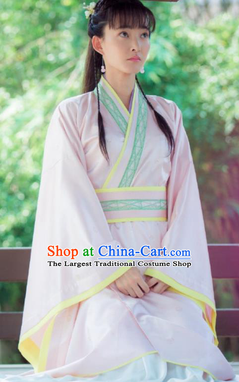Chinese Ancient Drama The Legend of Deification Su Daji Shang Dynasty Imperial Consort Historical Costume and Headpiece Complete Set