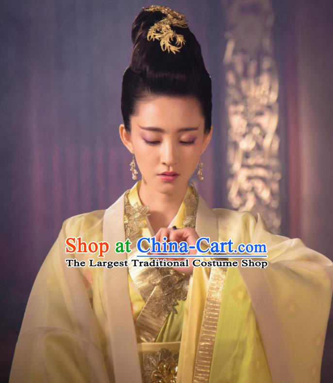 Chinese Ancient Imperial Consort Su Daji Dress Shang Dynasty Drama The Legend of Deification Costume for Women