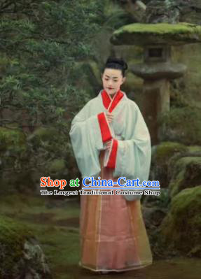 Chinese Ancient Three Kingdoms Period Wei Court Replica Costume Traditional Imperial Consort Hanfu Dress for Women