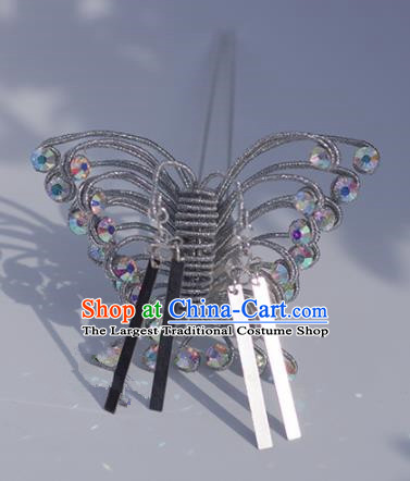 Japanese Geisha Kimono Butterfly Hairpins Traditional Yamato Hair Accessories for Women