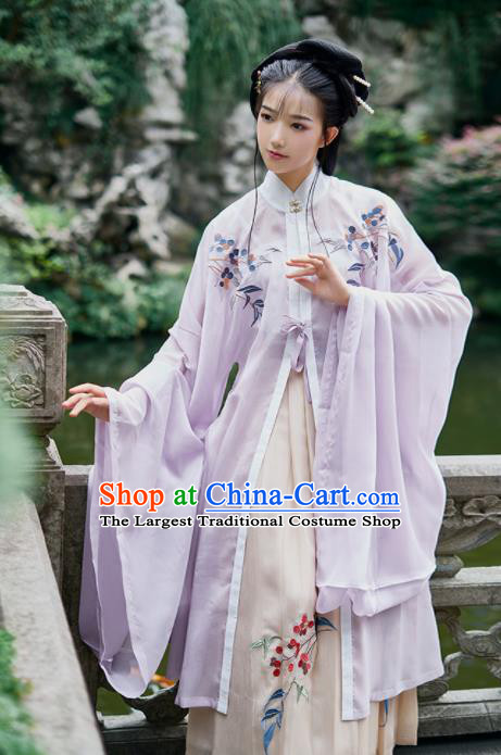 Chinese Ancient Drama Nobility Lady Hanfu Dress Traditional Ming Dynasty Royal Princess Costumes for Women