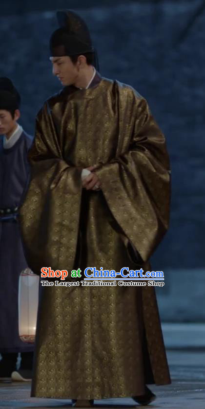 Traditional Chinese Drama Ancient Prince of Qi Clothing Royal Nirvana Song Dynasty Xiao Dingtang Costumes for Men
