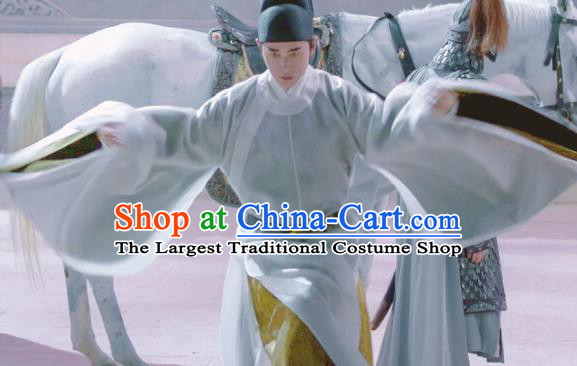 Royal Nirvana Chinese Ancient Drama Song Dynasty Crown Prince Xiao Dingquan Replica Costumes Complete Set