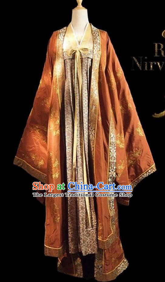 Chinese Ancient Court Princess Costume Historical Drama Royal Nirvana Song Dynasty Infanta Hanfu Dress for Women