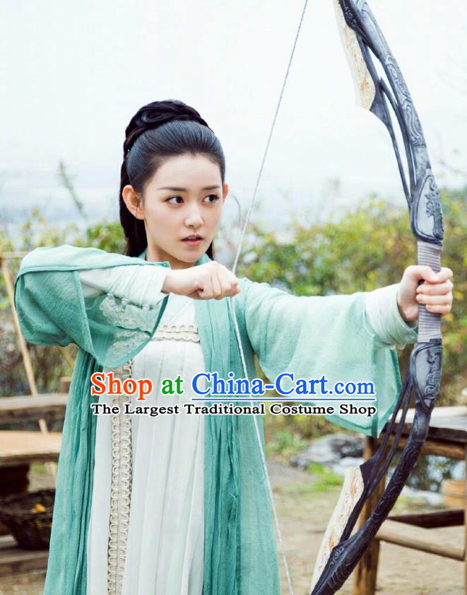Chinese Ancient Noble Princess Hanfu Dress Historical Drama Love of Thousand Years Across Di Nv Costumes
