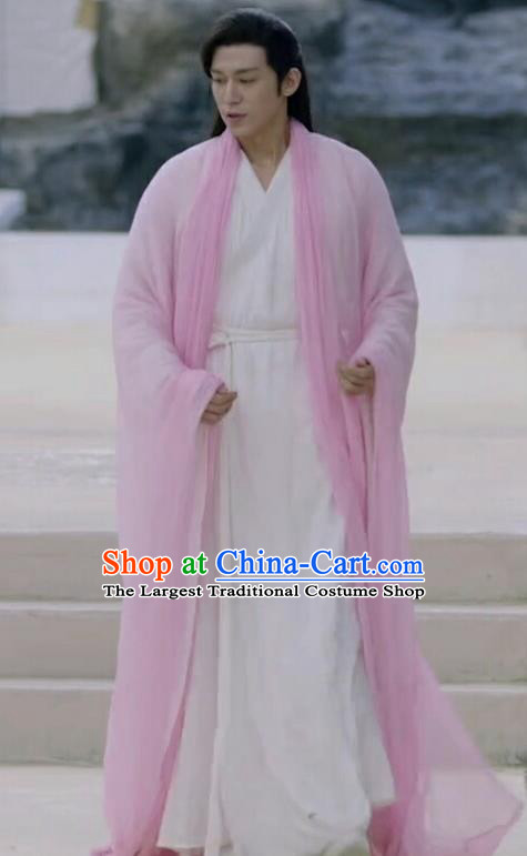 Chinese Ancient Phoenix Deity Garment Drama Eternal Love of Dream Immortal Zhe Yan Apparels Costumes